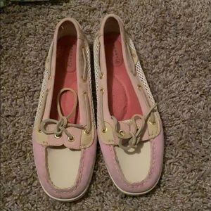 Multi color Sperry Topsider